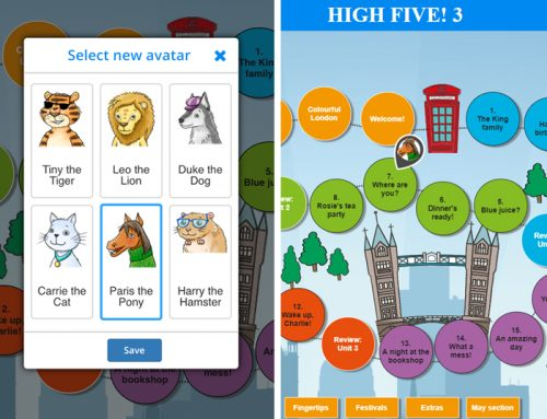 Gamification II – Learning materials with a personality: Using avatars in Cloubi